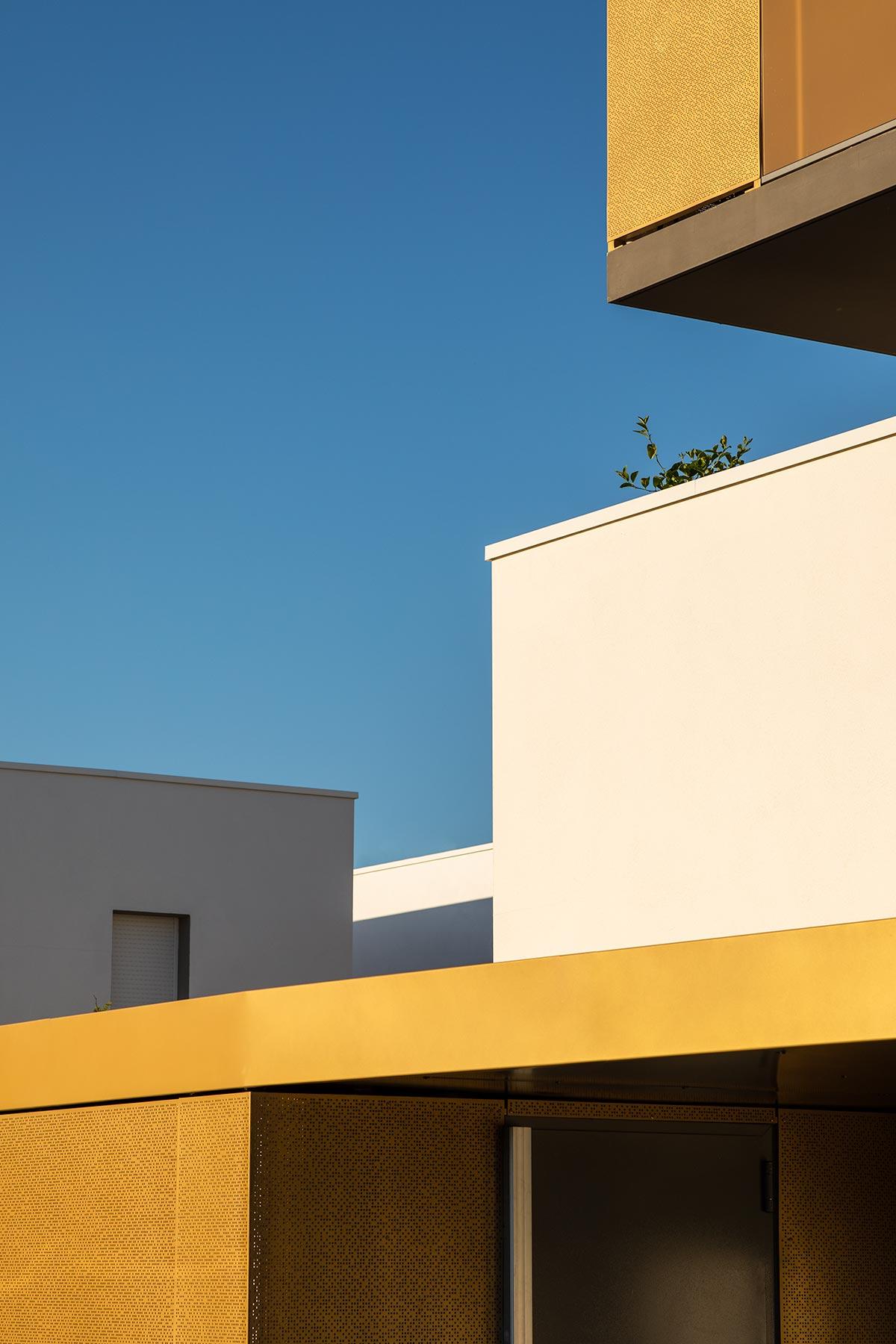 Photographe architecture ambiance couchant abstrait