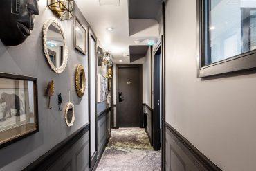 Ayer Photographe Rennes Nantes Maisons du Monde Hôtel & Suites couloir