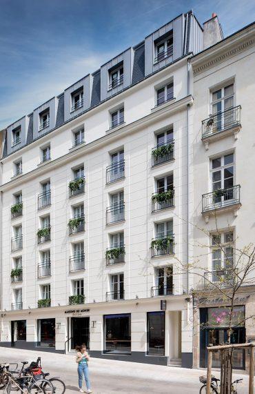 Ayer Photographe Rennes Nantes Maisons du Monde Hôtel & Suites facade