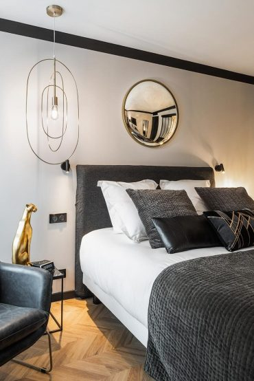 Maisons du monde hotel et suites nantes shooting photo chambre jagger